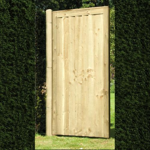 Elite-Featheredge-Green-Gate
