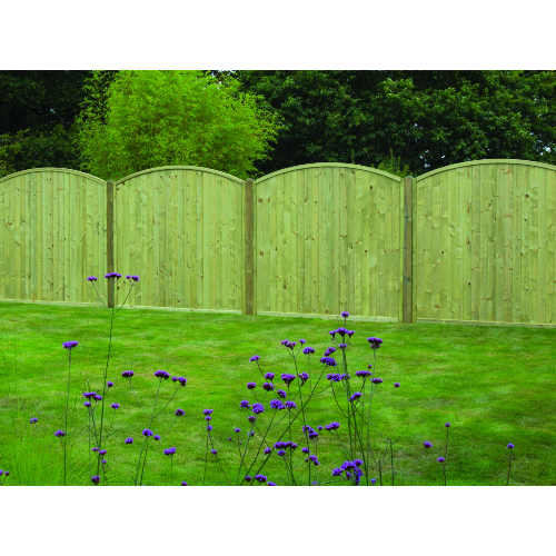 Tongue-Groove-Arched-Top-Fence-Panel