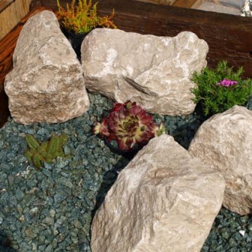 White-Limestone-Rockery