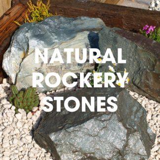Natural Stone Rockery