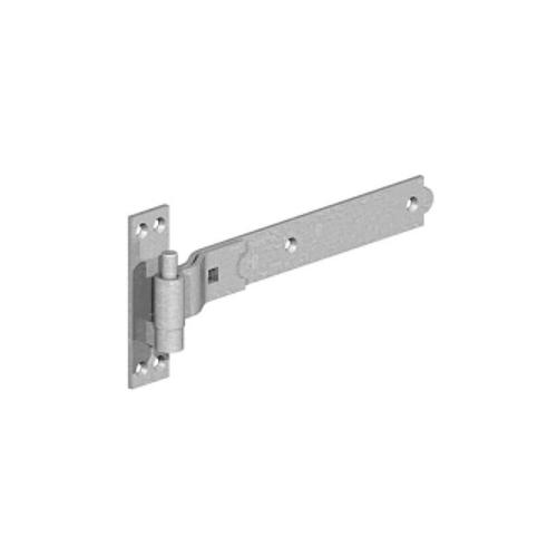 GATEMATE®-Cranked-Band-Hook-on-Plate-450mm-Galvanised