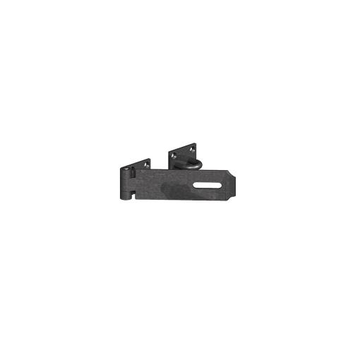 GATEMATE®-Heavy-Hasp-Staple-–-Safety-Pattern-180mm-Epoxy-Black