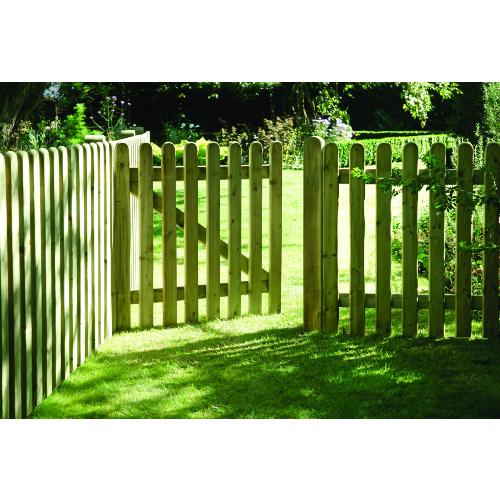 Elite-Round-Top-Picket-Fence-Panel