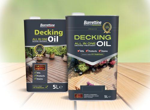Barrettine All In One Decking Oil