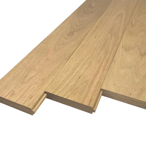 Solid-TG-Hardwood-Unfinished-Floorboard-Ash-Iroko-Oak-Sapele-Utile-Walnut